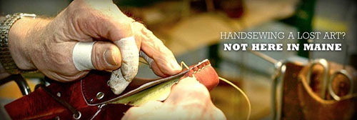 hand sewn footwear maine1