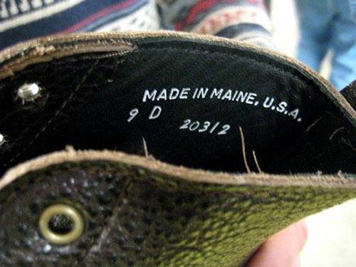 hand sewn footwear maine6