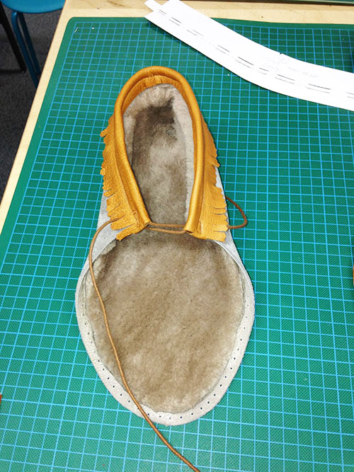 rose choules moccasin atelier 3